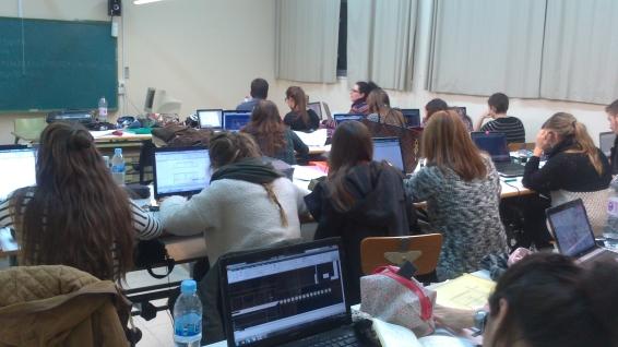 Trabajando en el aula