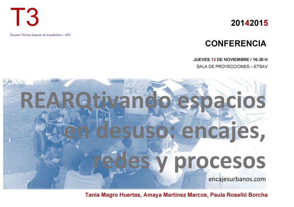 2014-11-13_CARTEL conferencia ENCAJESURBANOS